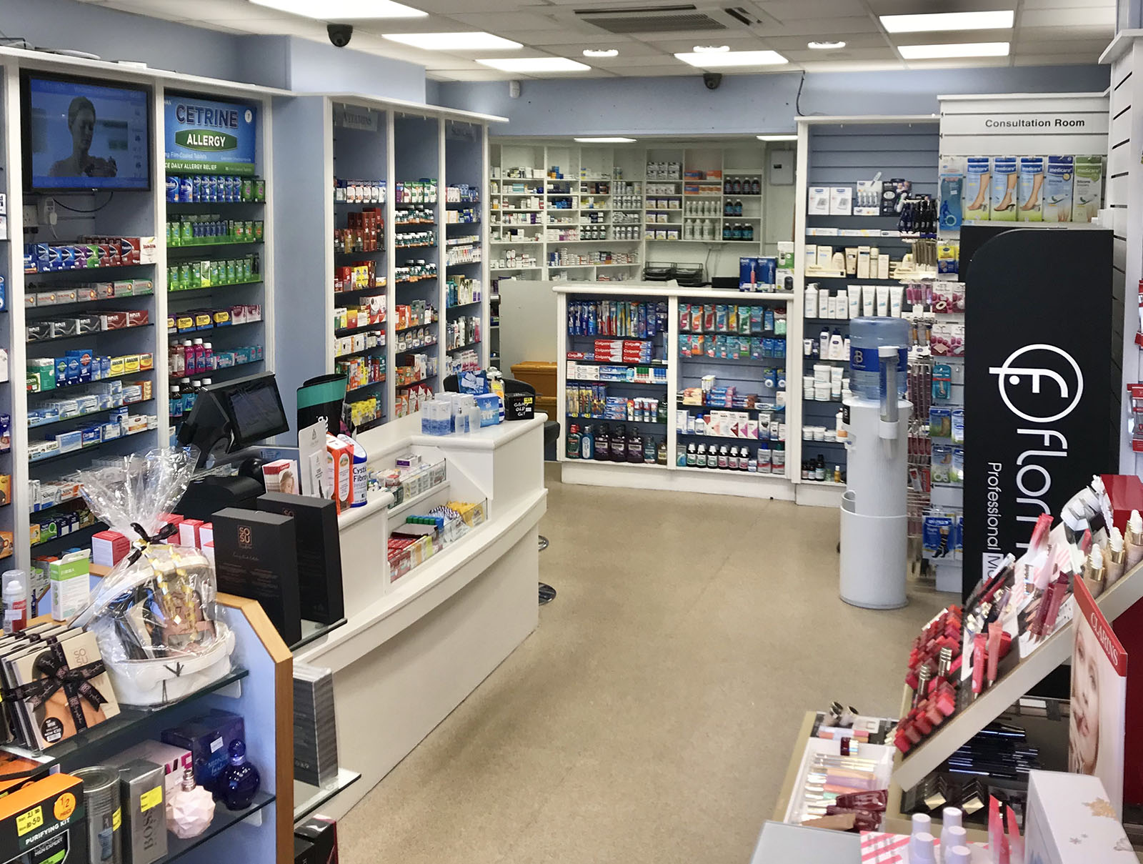 Inside the pharmacy
