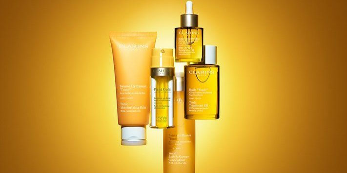 Clarins products